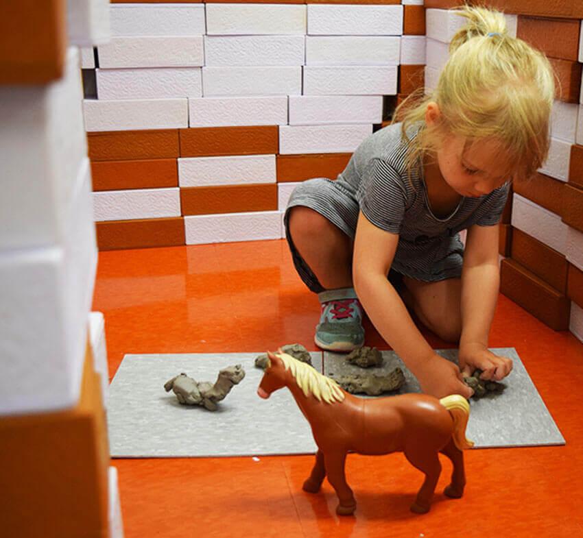 Glaise - animaux - arts plastiques
