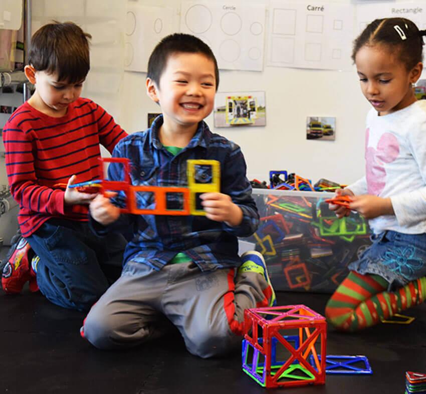 Blocs - Macformers - enfants - joyeux