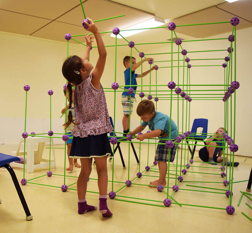 Numératie - Garderie - tiges et boules - enfants