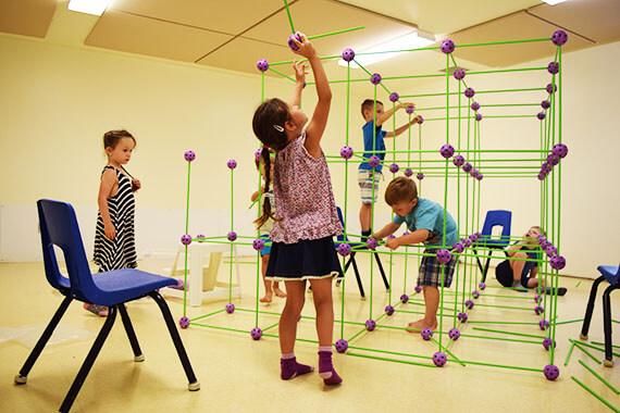 Activité - numératie - structure - enfants