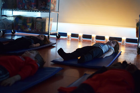 Pleine conscience - présence attentive - mindfulness - garderie